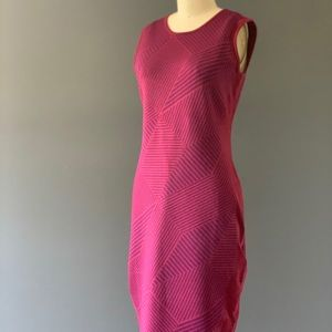 Narciso Rodriguez Magenta Pattern Dress - size 44
